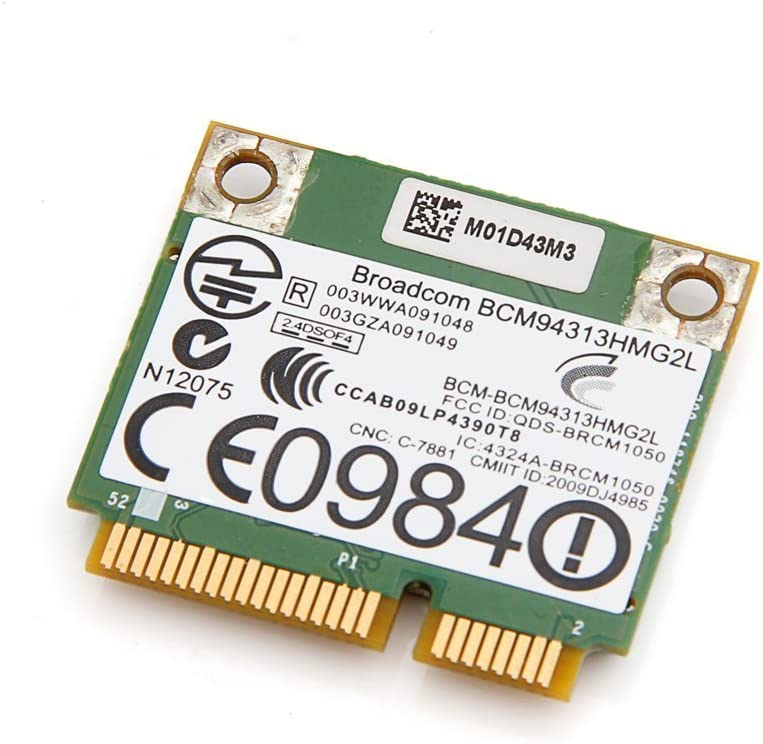 Dell Dw1501 Pci-e Wireless Wlan Card Broadcom 4313 Bcm94313hmg2l Dw1501 Half Hight 802.11n