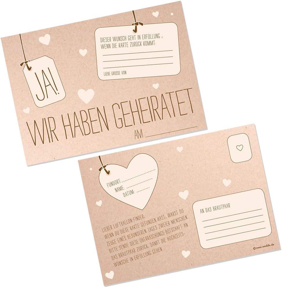 Hochzeit /& Liebe Lot de 2 n/œuds de d/écoration Cr/ème