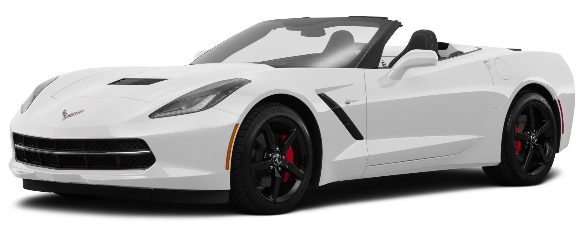 2015 chevrolet corvette 1lt 2 door stingray convertible - Corvette 2015 White