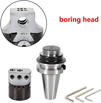 F1-12 boring head shank 9pcs 12mm carbide boring tips with BT40-1-1//2-18 BT40