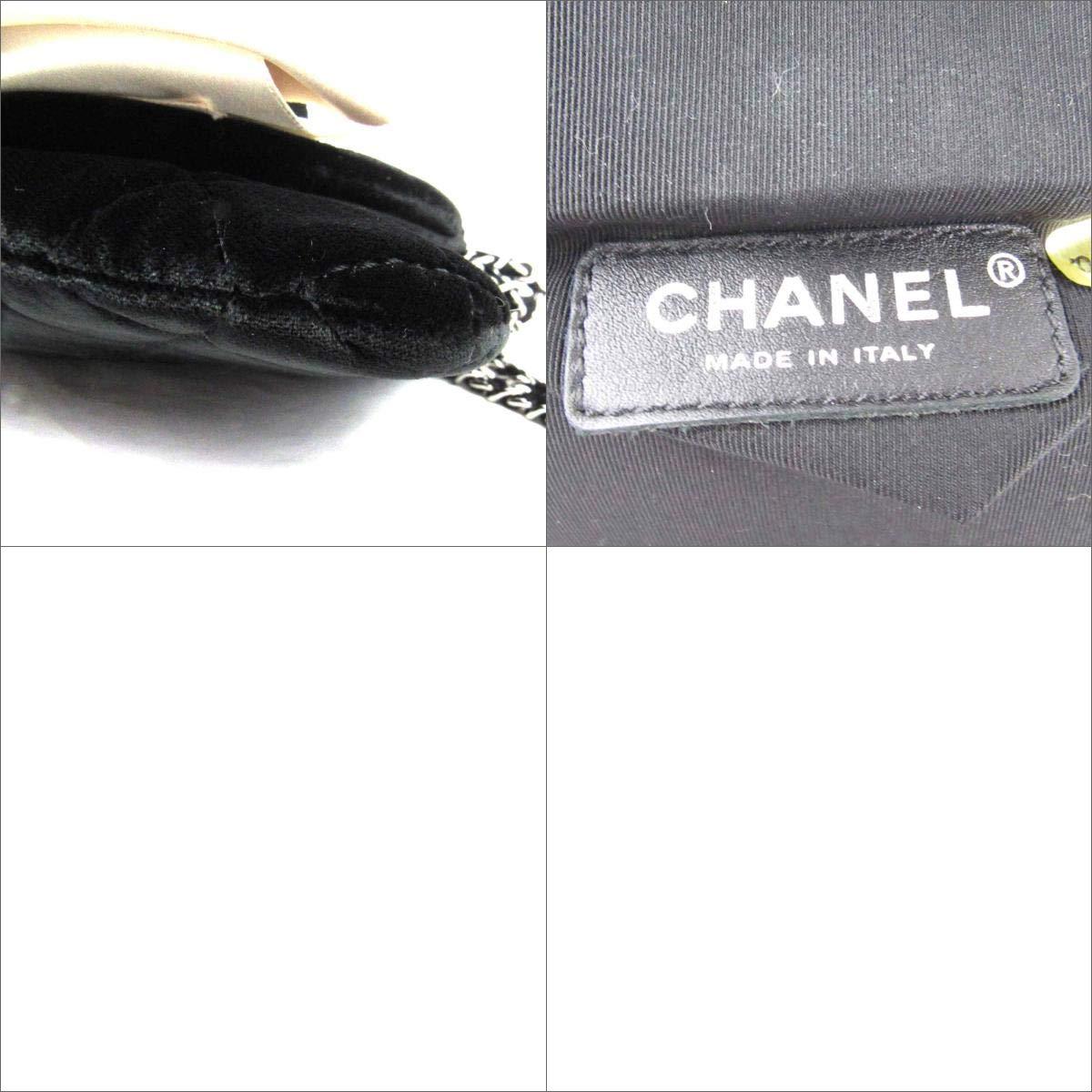 0176f5a40014 Amazon | [シャネル] CHANEL カメリア パーティバッグ クラッチバッグ ハンドバッグ ブラック ベルベット N45272 [中古] |  CHANEL(シャネル) | ハンドバッグ