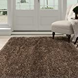 Lavish Home 62-MOC335 Shag Area Rug, Mocha, 3'3 x 5′ Review