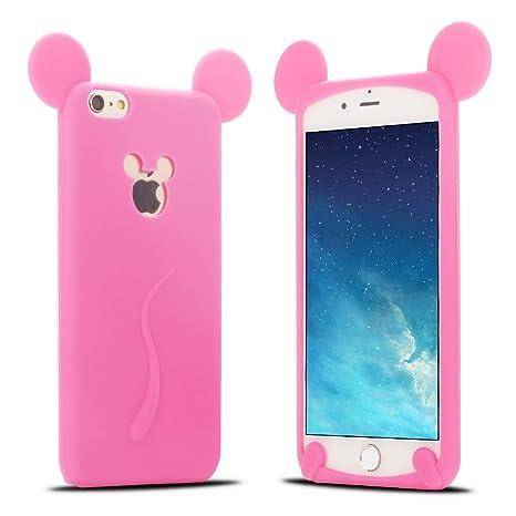 Funda iPhone 6S, Carcasa iPhone 6 Silicona, RosyHeart 3D ...