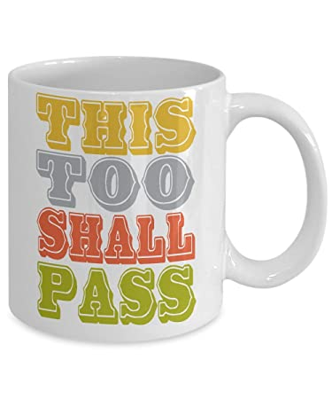 Amazoncom Bible Verse Mug Inspirational Quote Mug This Too