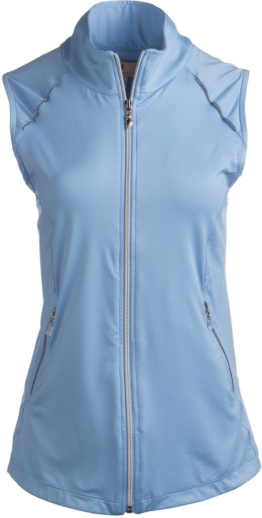 Sport Haley Women's Sonya Full-Zip Vest( COLOR: Blue, WOMENS SIZE:Medium )