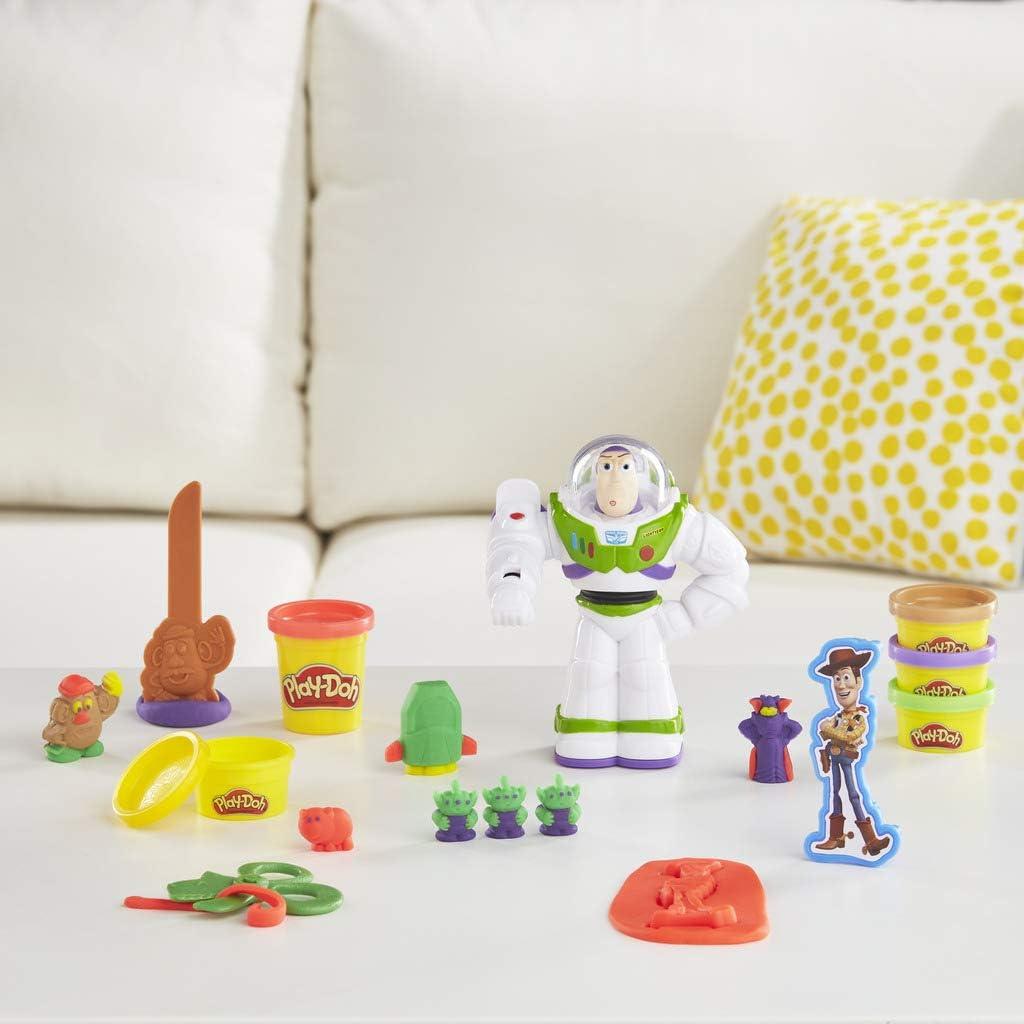 Play-Doh Disney/Pixar Toy Story Buzz Lightyear Set: Amazon.co.uk: Toys &  Games