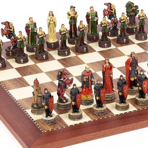 春のコレクション Robin Hood & The Sheriff of The Nottingham Chessmen & & Astor Astor Placeチェスボードfrom Spain B0051C5TQW, ユニマットリケン公式ショップ:4f46789e --- diceanalytics.pk