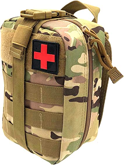 Tactical First Aid Bag Rip-Away Medical Military Utility Pouch Durable