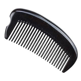 Shunfa Ebony Comb Ebony Handleless Whole Wooden Comb Wide Tooth Comb ZYY