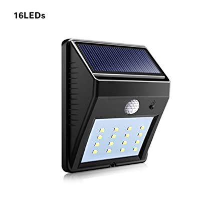 Yeazyai LED Solar Radar Sensor Light Impermeabile Sensore di Movimento PIR lampada Da Parete Yard Fence