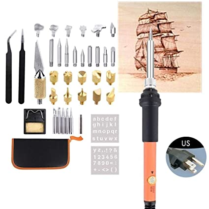 Buy SMASTORE Wood Burning Starter Kit, Wood Burning Tool Kit, 40Pcs