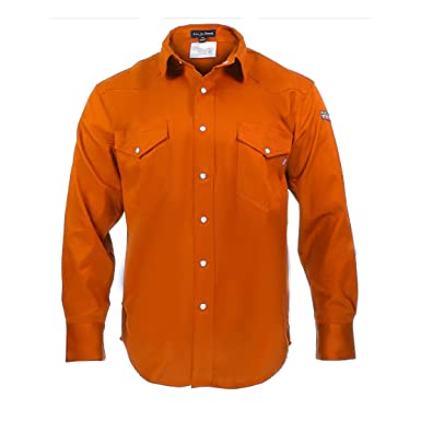 c043fd6b700a Amazon.com  Just In Trend Flame Resistant FR Shirt - 88 12  Clothing