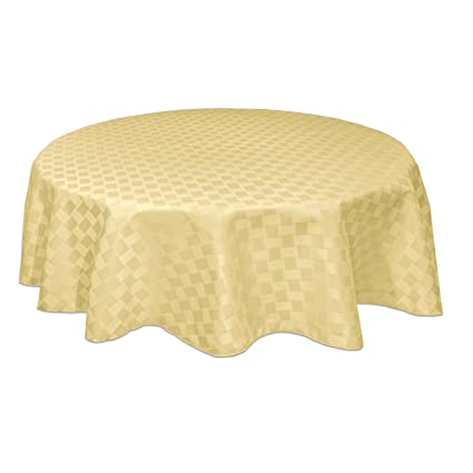 Amazoncom Bardwil Linens Reflections 60x84 Oval Tablecloth
