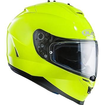 HJC IS-17 cara completa para Moto Casco – fluorescente