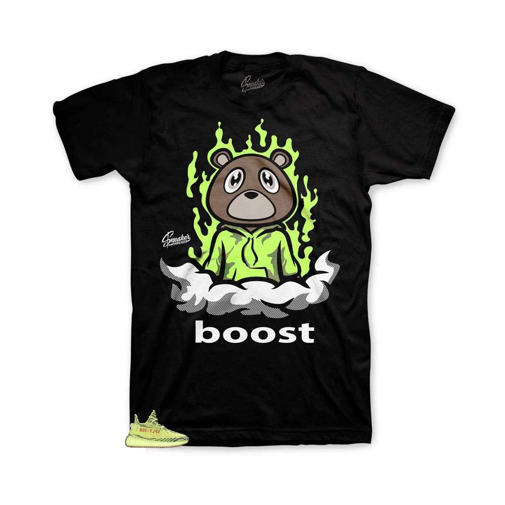 8b02844c3c2 Amazon.com  Shirt Match Yeezy Frozen Yellow - Boost Bear Sneaker Tee   Clothing