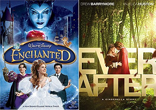 Fairy Tale Collection - Ever After A Cinderella Story & Disney's Enchanted 2-DVD Double Feature Bundle