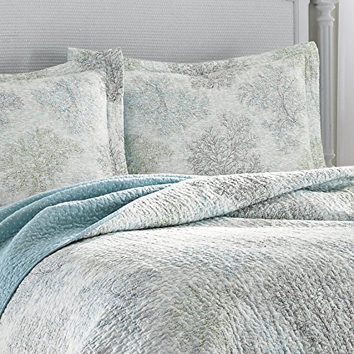 Laura ashley saltwater reversible quilt set king buy - Laura ashley online ...