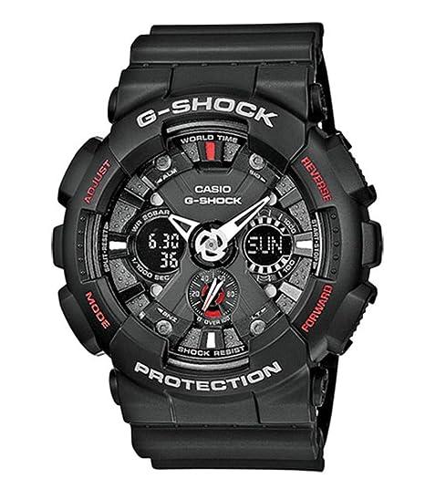 c79bfd30517d Casio Reloj de Pulsera GA-120-1AER  Casio  Amazon.es  Relojes