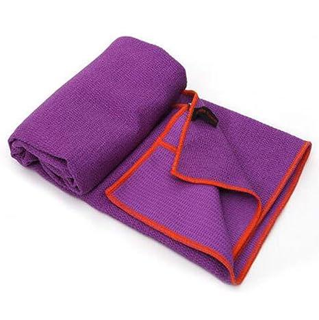 Amazon.com : ZSZBACE Yoga Towel Enjoy A Skidless, Peaceful ...