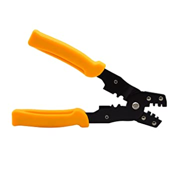 Tool Boss Multi-function Crimping Press Pliers Tools Wire Cutter ...