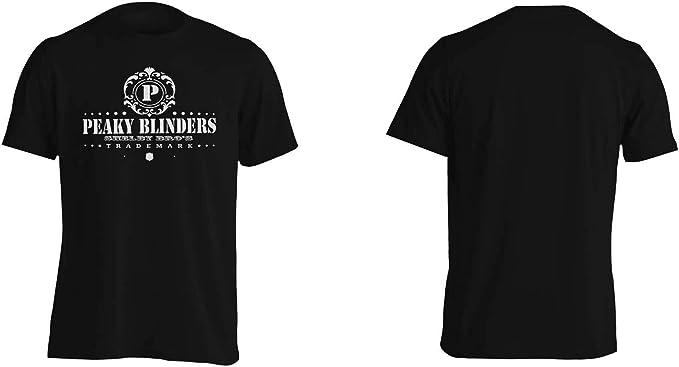 INNOGLEN Peaky Blinders Whiskey Shelby Bros ver34 Camiseta de los Hombres ii939m: Amazon.es: Ropa y accesorios