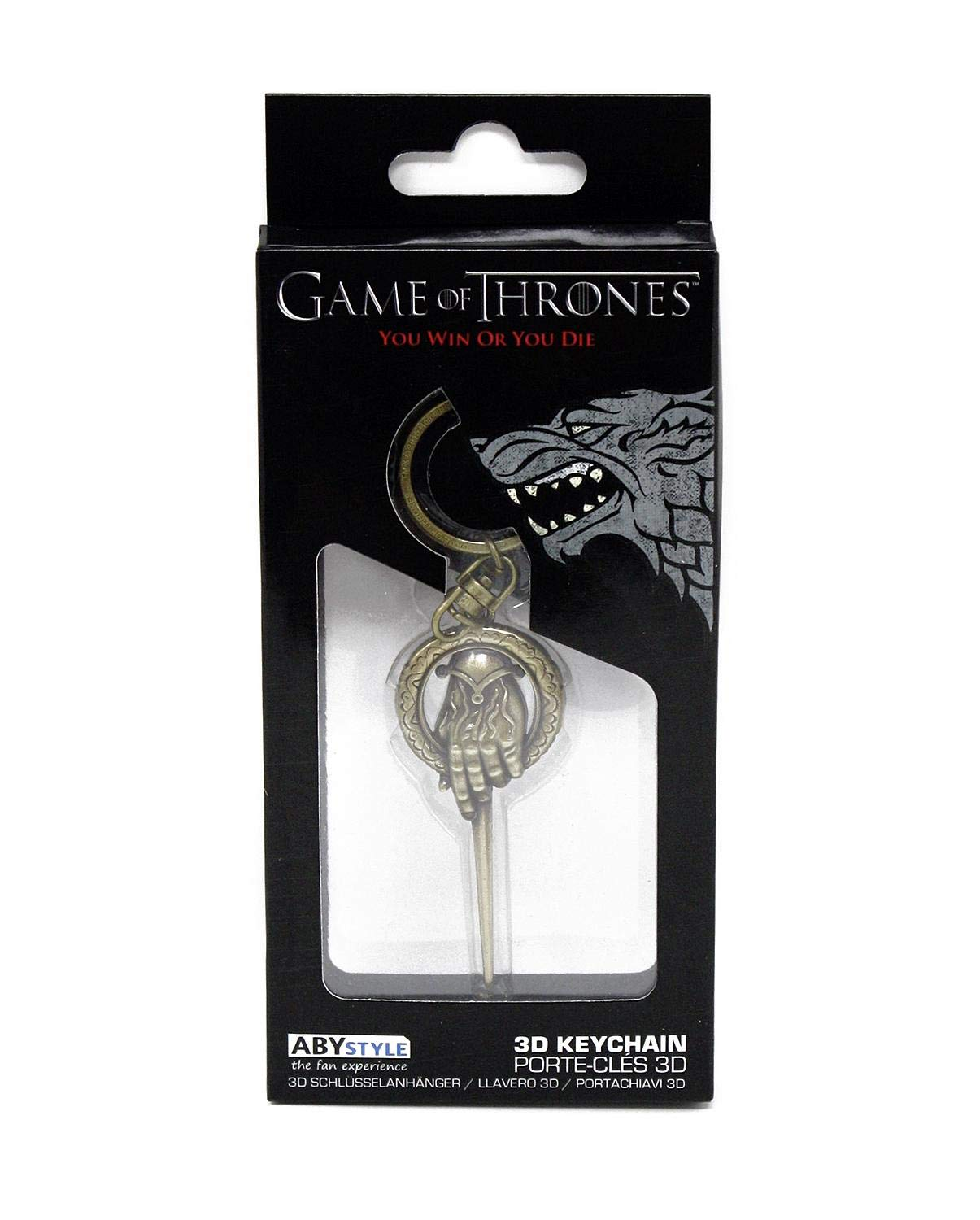Amazon.com: Game of Thrones Schlüsselanhänger Hand of The ...