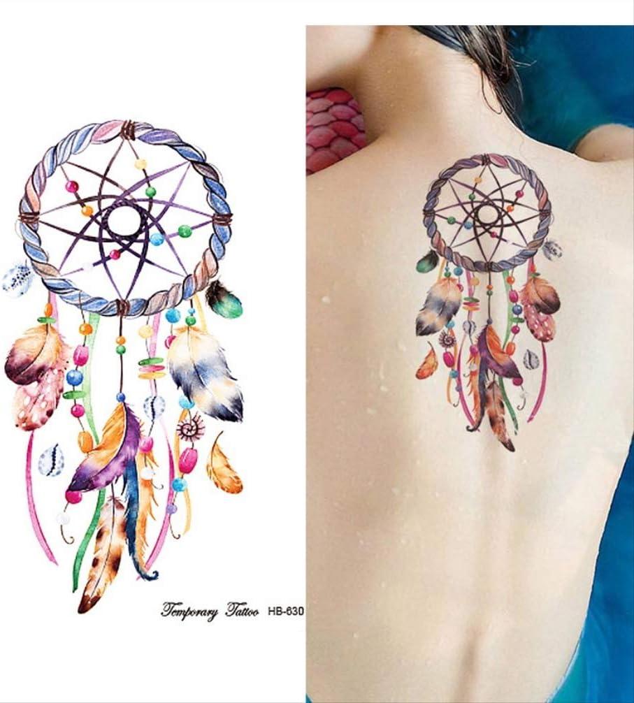 yyyDL Etiqueta engomada impermeable del tatuaje Tatuajes de ...