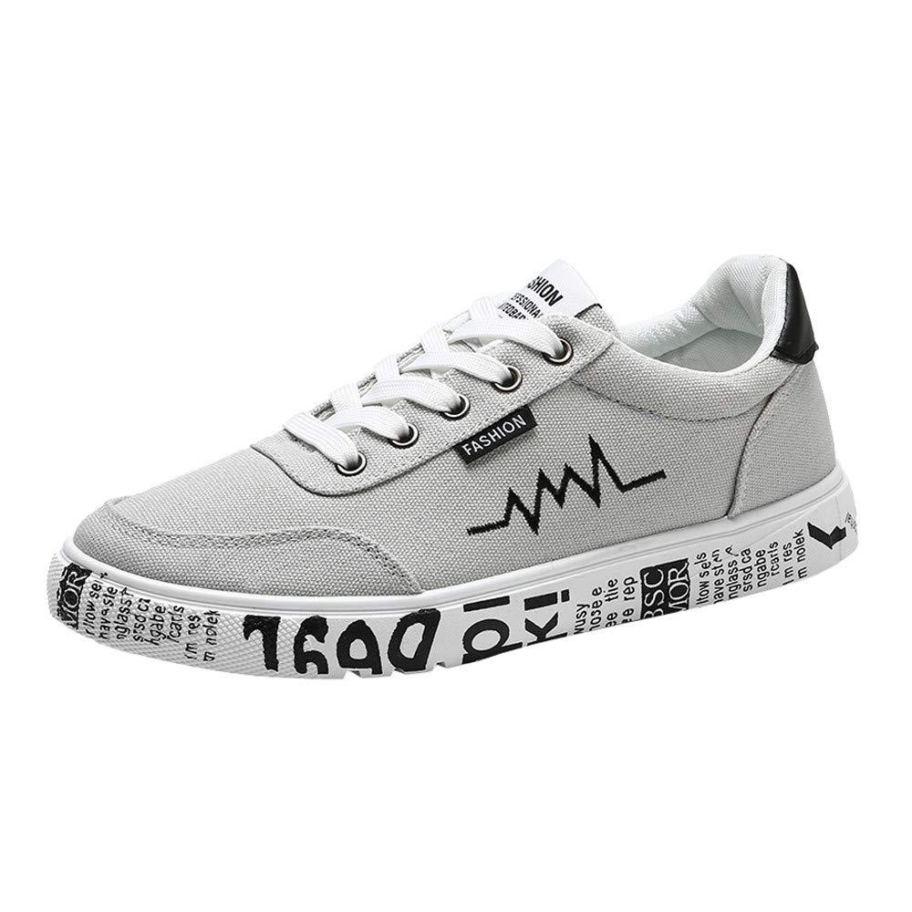 BBestseller-Zapatos Zapatillas de Running para Hombre, lona al aire libre de los hombres casuales hasta soles cómodos zapatos deportivos