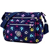 ENKNIGHT Nylon Crossbody Purse Bag for Women Travel Shoulder handbags (colorful)