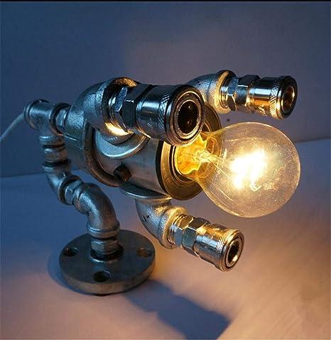 Lámpara de escritorio Retro Cabeza Única Bricolaje Hacer El Viejo ...