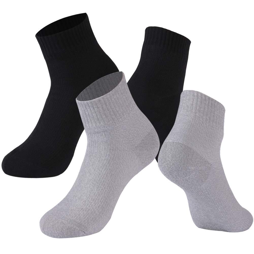 RANDY SUN 100% Waterproof Athletic Socks, [SGS Certified] Unisex Breathable Golf Hiking Trekking Cycling Climbing Ankle Sock XS