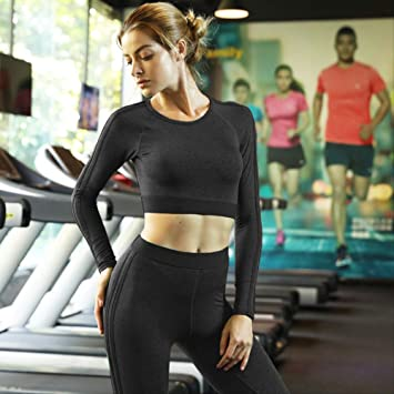DSWVBGX Sport Suit Sportswear Woman Yoga Outfit Dry Fit ...