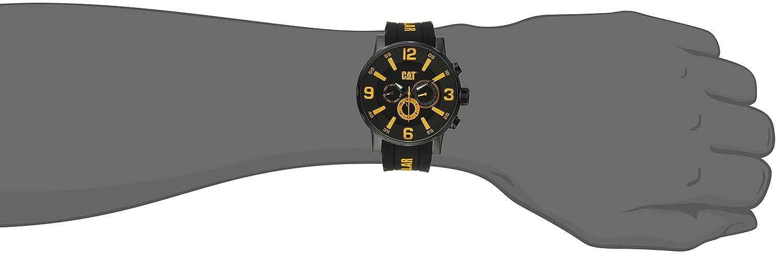 CAT WATCHES Herren Armbanduhr Chronograph Quarz Silikon NJ.169.21.137