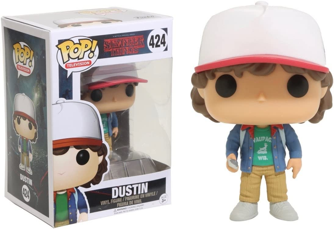 Funko - Pop! Vinilo Colección Stranger Things - Figura Dustin ...