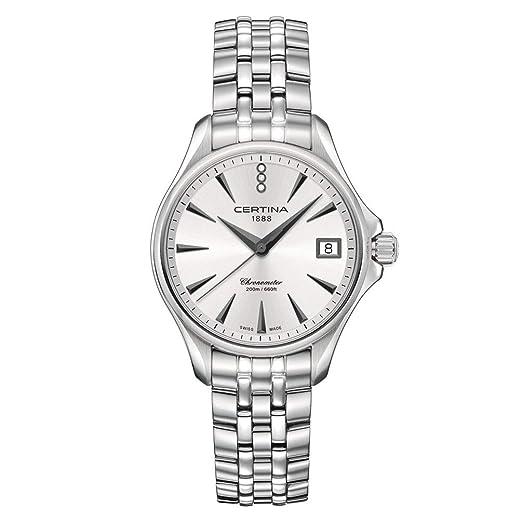 Reloj Certina DS Action Lady Diamantes Brazalete acero: Amazon.es: Relojes