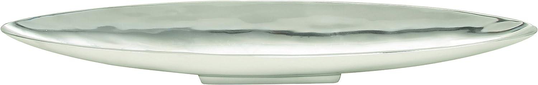 Deco 79 Aluminum Boat Tray, 30 by 3-Inch