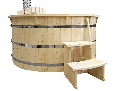 Tappo Della Vasca Da Bagno In Inglese : Hot tub vasca da bagno vasca 180 cm nuovo bagno botte in acciaio