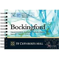St Cuthberts Mill Bockingford C.P. Spiral White Sulu Boya Kağıdı, 300 Gr, 180X130Mm, 12 Sayfa