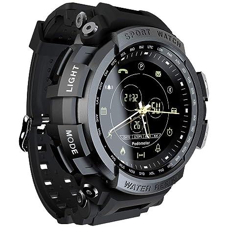 Amazon.com: Reloj inteligente deportivo profesional de 5 ATM ...