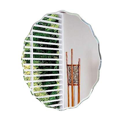 Espejo de baño Oval Modern Simplicity Espejo de vanidad montado en ...