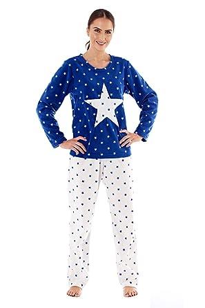 673bb68d5444 Selena Secrets Womens Super Soft Star Print Pyjamas  Amazon.co.uk  Clothing