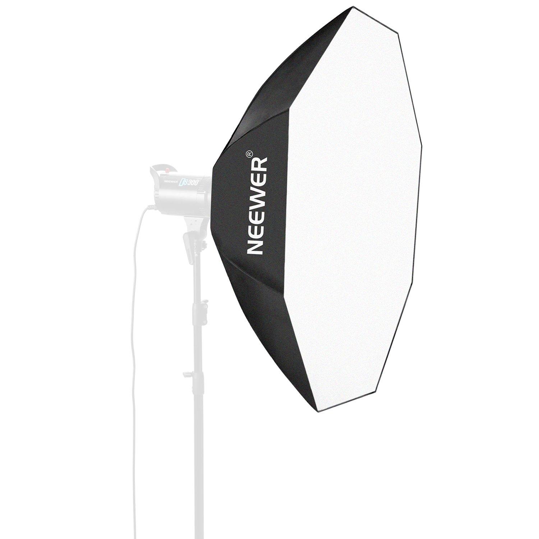 Canon Neewer Speedring Flash ed altri Piccoli Flash Stroboscopici Panasonic Lumix Olympus Pentax Sony Neewer 30x30 // 80x80cm Ombrello Softbox Ottagonale con Anello di Attacco Bowens per Nikon