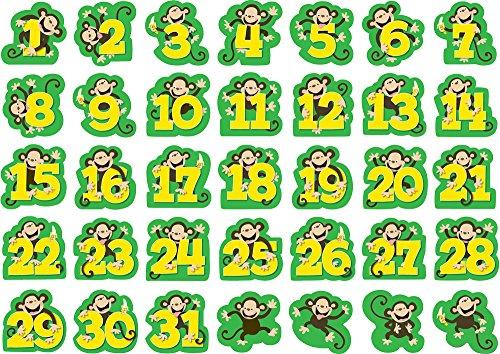 - Creative Teaching Press Monkeys Calendar Days (7078)
