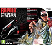 NINTENDO WII RAPALA PROBASS FISHING BUNDLE