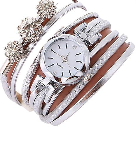 Reloj para mujer con grandes circonitas en la pulsera