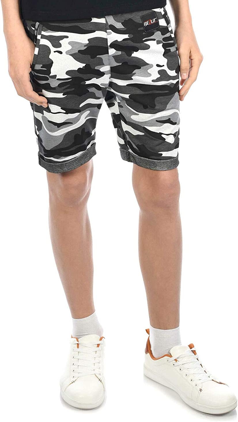 BEZLIT Kinder Cargo Shorts Kurze Hose Junge Jeans Capri Bermuda Shorts 30056