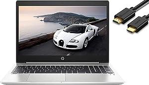 "2019 HP Probook 450 G6 15.6"" HD Business Laptop (Intel Quad-Core i5-8265U, 16GB DDR4 RAM, 256GB PCIe NVMe M.2 SSD + 1TB HDD, UHD 620) USB Type-C, RJ45, HDMI, Windows 10 Pro"