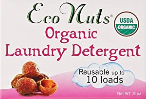 "Eco Nuts ""As Seen on Shark Tank!"" Organic Laundry Soap- Trial Size/10 loads"