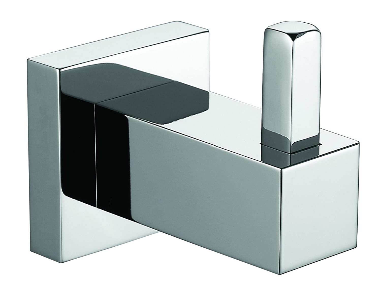 Me Cubo真鍮クロムタオルローブフック/コートハンガーお風呂用キッチンガレージ B01F9F474U