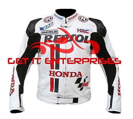Honda Repsol Moto motocicleta Racing chaqueta de piel